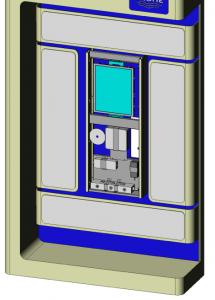 Kiosk Cabinet